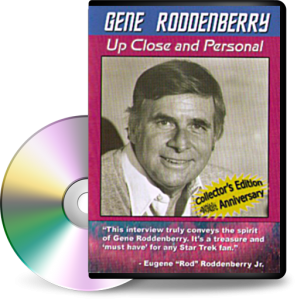 Gene Roddenberry | Up Close and Personal DVD